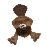 Quaker Pet Products Quaker Pet Hear Doggy Ultrasonic Flattie with Chew Guard, Brown Beaver