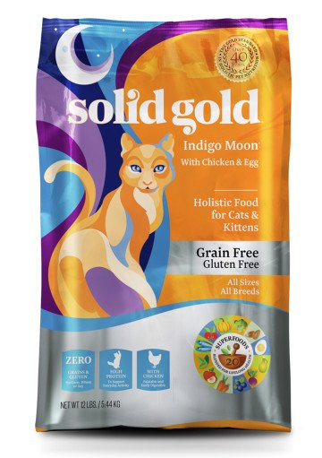 Solid Gold Solid Gold Indigo Moon Cat Dry Food
