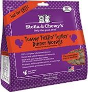 Stella & Chewy Stella & Chewy's Tummy Ticklin' Turkey Freeze-Dried Cat Food, 18oz bag