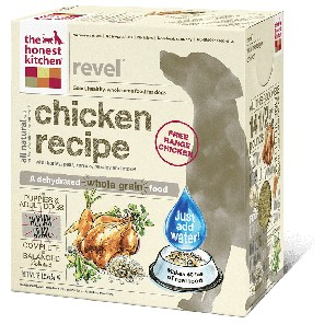The Honest Kitchen The Honest Kitchen Revel Chicken All Life Stages Dehydrated Dog Food, 4# box