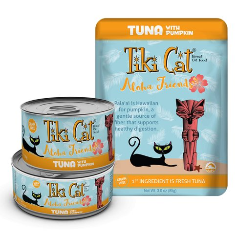 Tiki Cat Tiki Cat Aloha Friends Tuna with Pumpkin