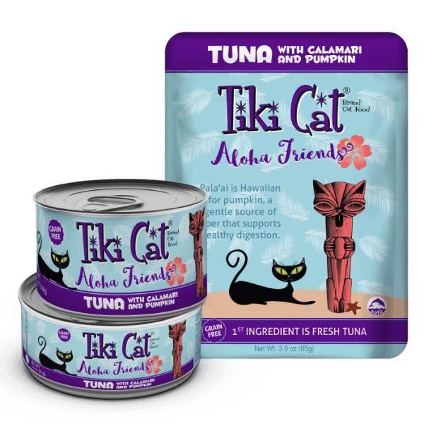 Tiki Cat Tiki Cat Aloha Friends Tuna with Calamari and Pumpkin