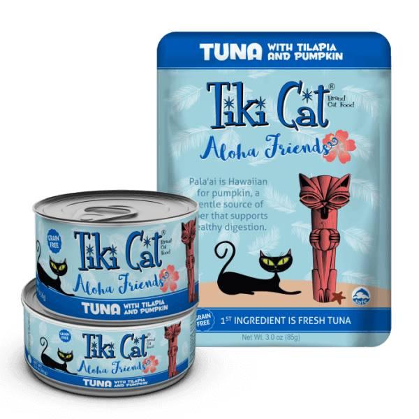 Tiki Cat Tiki Cat Aloha Friends Tuna with Tilapia and Pumpkin