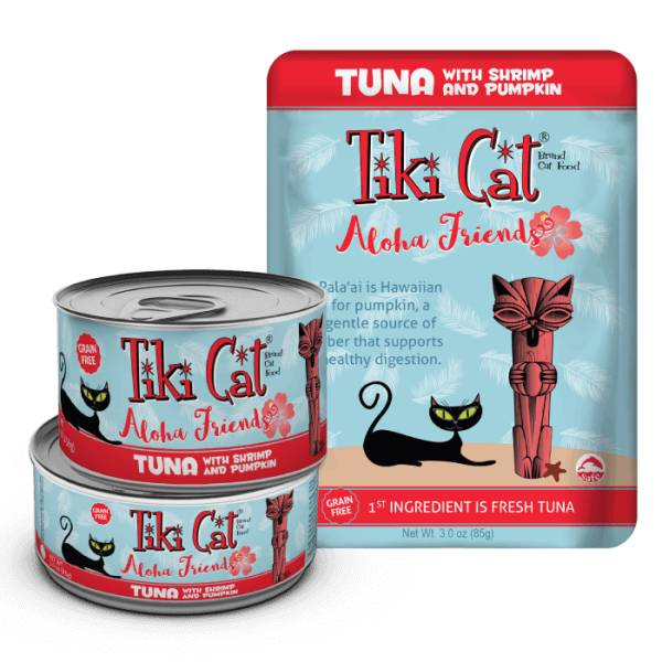 Tiki Cat Tiki Cat Aloha Friends Cat Food Pouch