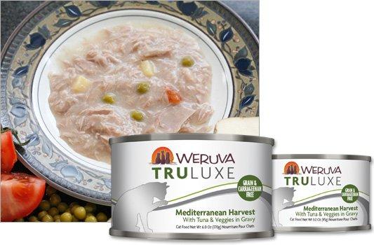 Weruva Weruva TruLuxe Mediterranean Harvest with Tuna and Veggies in Gravy