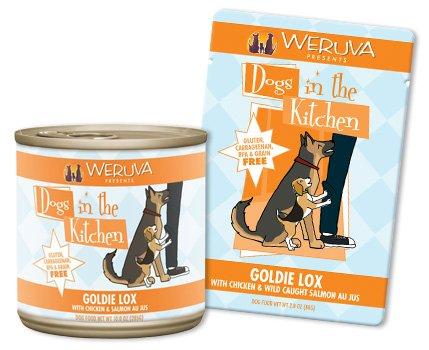 Weruva Weruva Goldie Lox Chicken & Salmon Canned Dog Food, 10oz can, 12ct