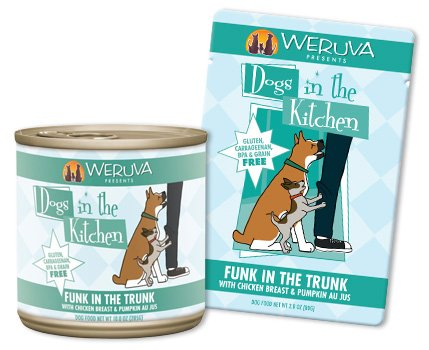 Weruva Weruva Dogs in the kitchen Funk in the Trunk with Chicken & Pumkin Canned Dog Food, 10oz can, 12ct