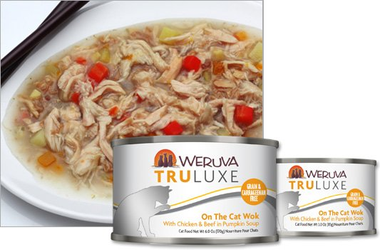 Weruva Weruva Truluxe On The Cat Wok with Chicken and Beef in Pumpkin Soup