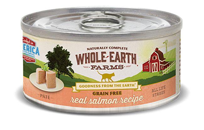 Whole Earth Farms Whole Earth Farms Real Salmon Recipe