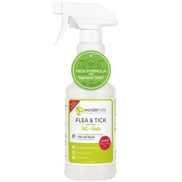 Wondercide Wondercide Evolv Flea & Tick Treatment Lemongrass 16oz