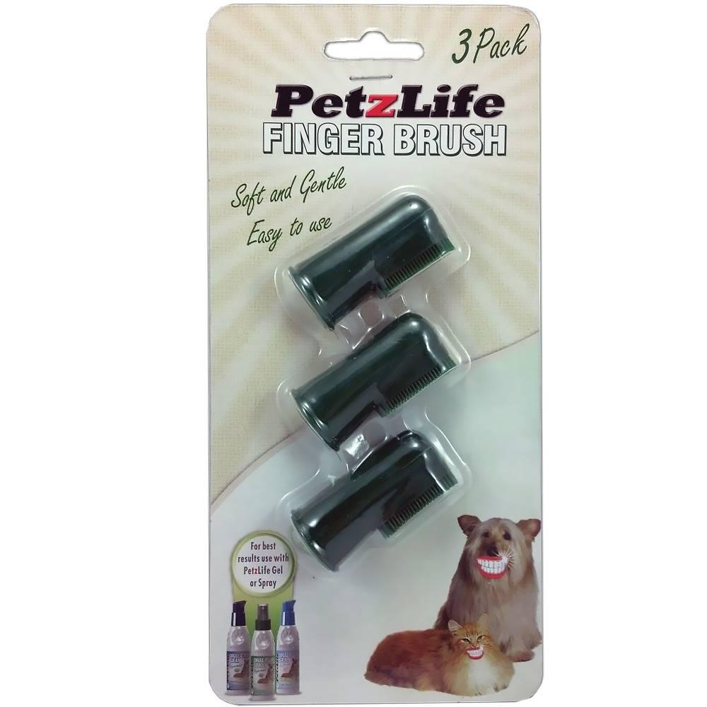 PetzLife PetzLife Complete Finger Brush, 3 pack