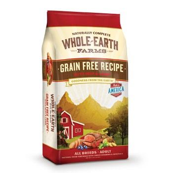 Whole Earth Farms Whole Earth Farms Grain Free Beef/Lamb 25#