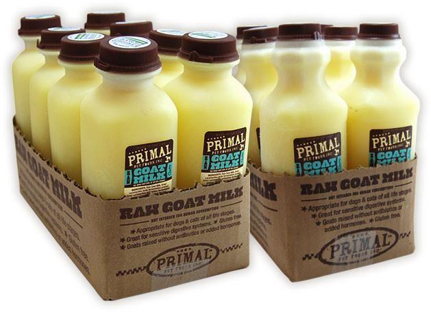 Primal Primal Raw Goat Milk, 16oz bottle
