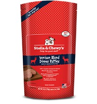 Stella & Chewy Stella & Chewy's Raw Frozen Venison Dog Food Dinner, 6# bag
