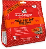 Stella & Chewy Stella & Chewy's Beef Meal Mixers Freeze-Dried Dog Food Topper, 9oz bag