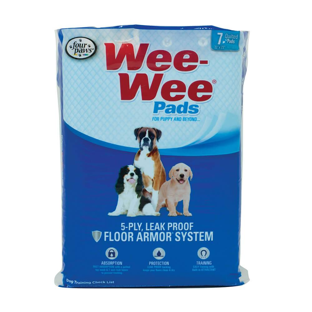 "Four Paws Four Paws Wee Wee Pads Super Absorbent, 40ct, 24"" x 24"""