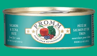 Fromm Fromm Salmon and Tuna Pate Cat Can Food, 5.5 oz can