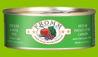 Fromm Fromm Chicken and Duck Pate Cat Can Food, 5.5 oz can