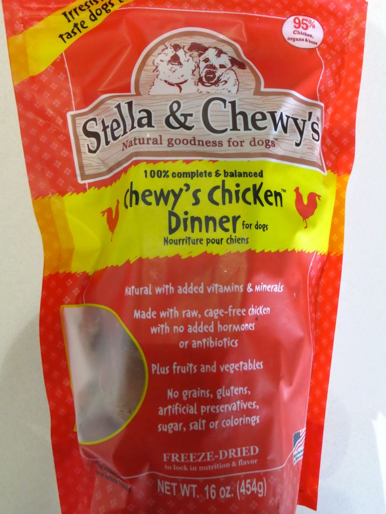 Stella & Chewy Stella & Chewy's Chicken Dinner Freeze-Dried Dog Food, 15 oz bag