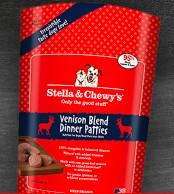 Stella & Chewy Stella & Chewy's Venison Dinner Patties Frozen Raw Dog Food