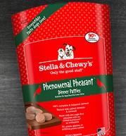 Stella & Chewy Stella & Chewy's Phenomenal Pheasant Dinner Patties Frozen Raw Dog Food 6# bag