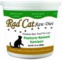 Rad Cat Rad Cat Frozen - Feline Recipe, Venison, 16 oz tub