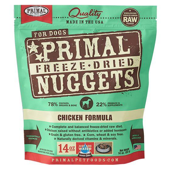 Primal Primal Freeze Dried Dog Food, Chicken, 14 oz bag