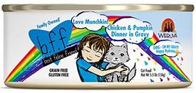 Weruva Weruva BFF OMG Cat Food in Gravy - Love Munchkin Chicken & Pumpkin