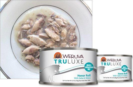 Weruva Weruva Truluxe Honor Roll with Saba in Gravy, 6 oz can