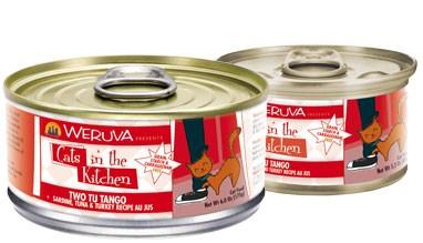 Weruva Weruva Cats in the Kitchen Sardine, Tuna, and Turkey Recipe Au Jus Cat Food