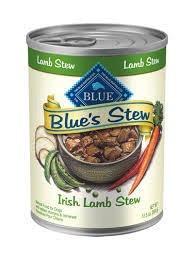Blue Buffalo Blue Irish Lamb Stew Dog Food, 12.5 oz can
