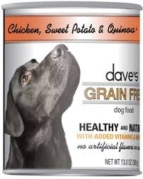 Dave's Dave's Pet Food Chicken & Quinoa Dog Food, 13 oz can