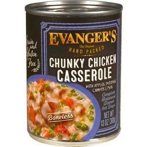Evanger Evanger's Hand Packed Chunky Chicken Casserole Dinner, 13 oz can