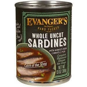 Evanger Evanger's Whole Uncut Sardines, 13 oz can