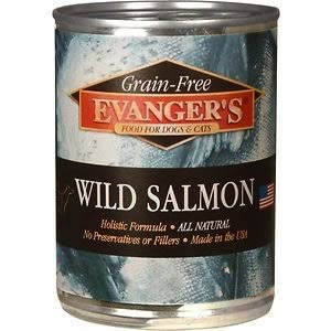 Evanger Evanger's Hand-Packed Wild Salmon, 12 oz can
