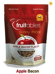 Fruitables Fruitables Chewy Apple Bacon Treats, 12 oz bag