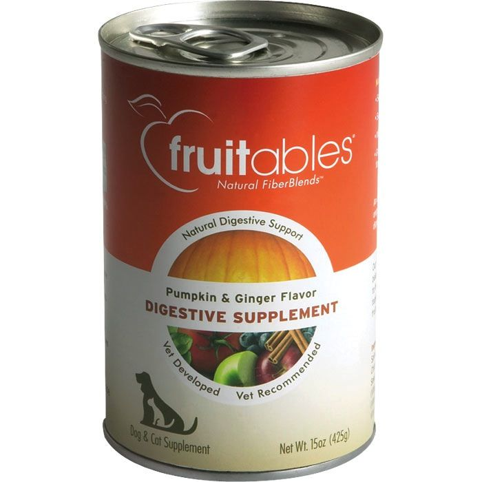 Fruitables Fruitables Pumpkin Digestive Supplement, 15 oz can