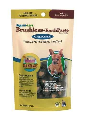 Ark Naturals Ark Naturals Breath-Less Chewable Brushless-Toothpaste Mini, 4 oz bag