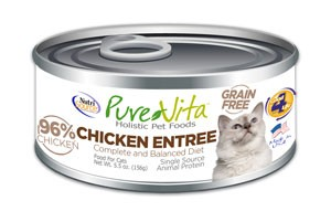 Pure Vita Pure Vita Chicken Stew Dinner Cat Can Food, 5 oz can