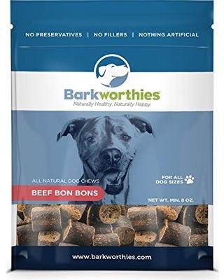 Barkworthies Barkworthies Beef Bon Bons, 8 oz bag