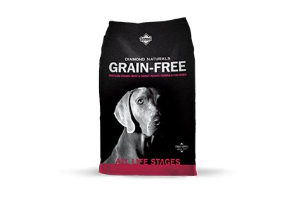 Diamond Diamond Naturals Grain Free Dry Dog Food, Beef & Sweet Potato, 28# bag