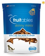 Fruitables Fruitables Skinny Minis Soft & Chewy, Grilled Salmon, 12 oz bag