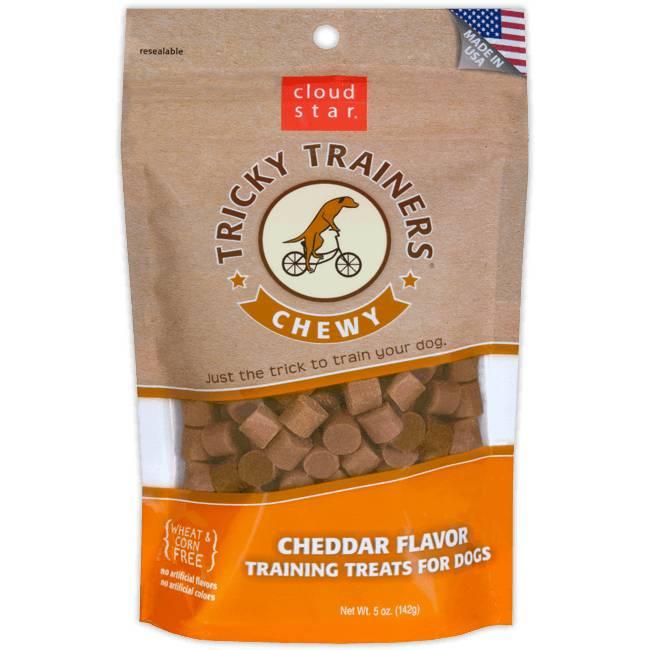 Cloud Star Cloud Star Tricky Trainers Chewy Cheddar, 5 oz bag