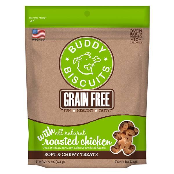 Cloud Star Cloud Star Buddy Biscuits Soft Chews Rotisserie Chicken, 5 oz bag