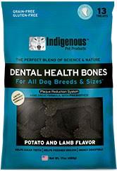 Indigenous Indigenous Dental Health Bones - Potato and Lamb Flavor