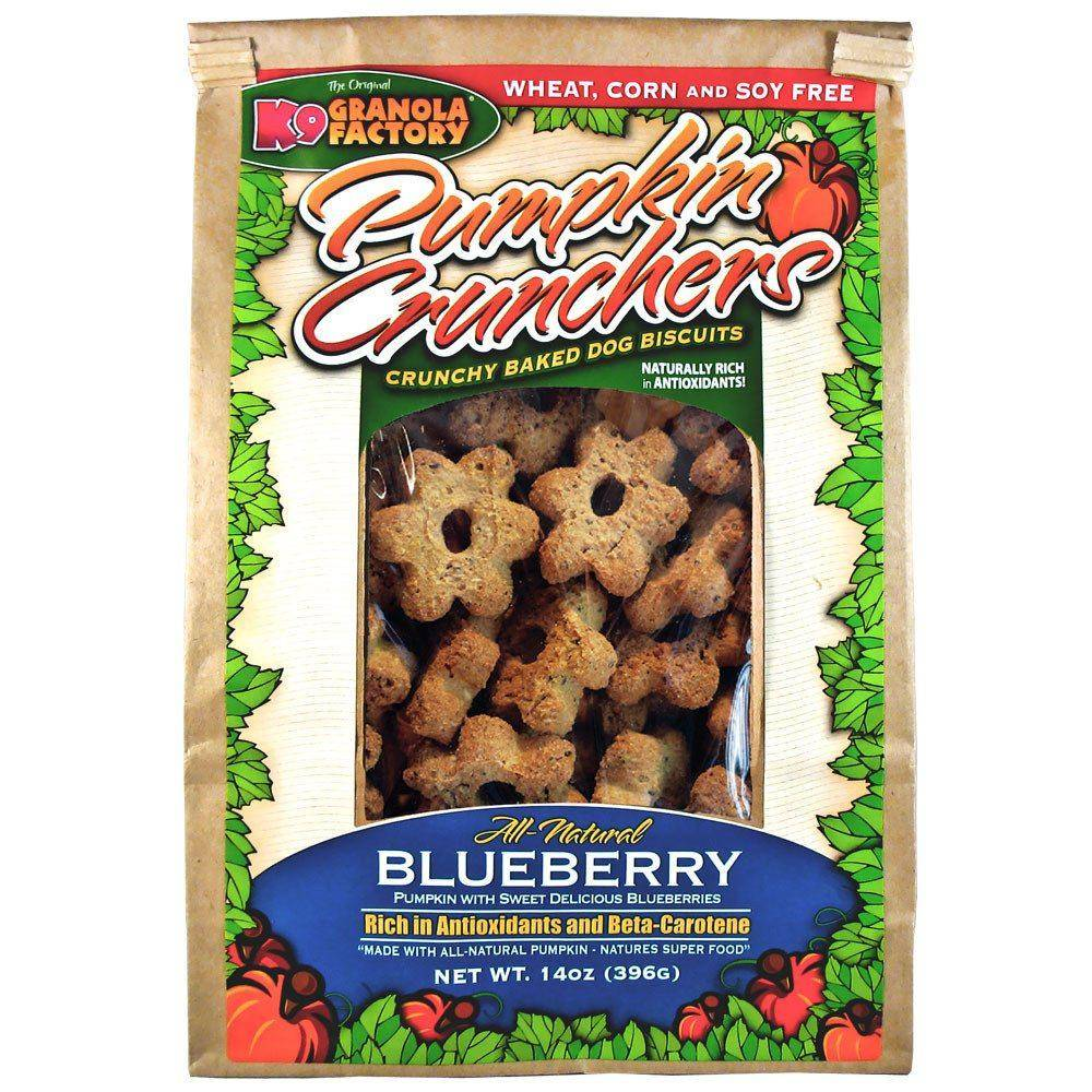 K9 Granola Factory K9 Granola Blueberry Pumpkin Cruncher, 14 oz bag