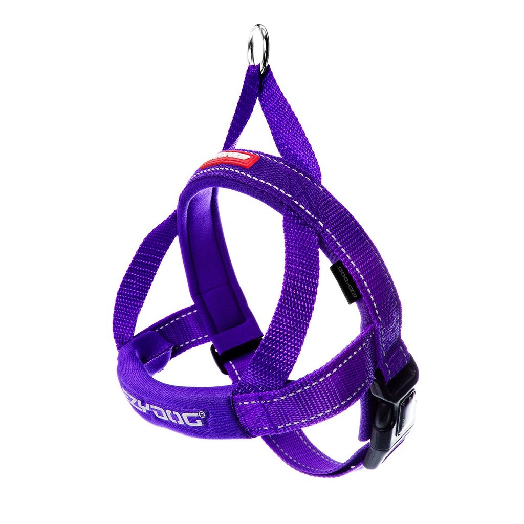 EzyDog EzyDog Quick Fit Harness Purple, Large