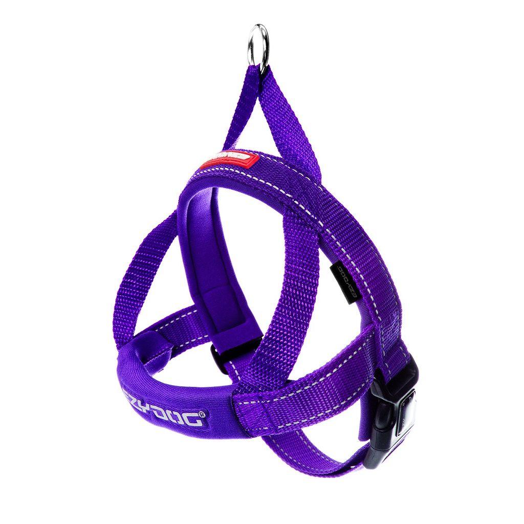 EzyDog EzyDog Quick Fit Harness Purple, Small