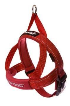 EzyDog EzyDog Quick Fit Harness Red, Medium