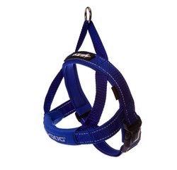 EzyDog EzyDog Quick Fit Harness Blue, Large